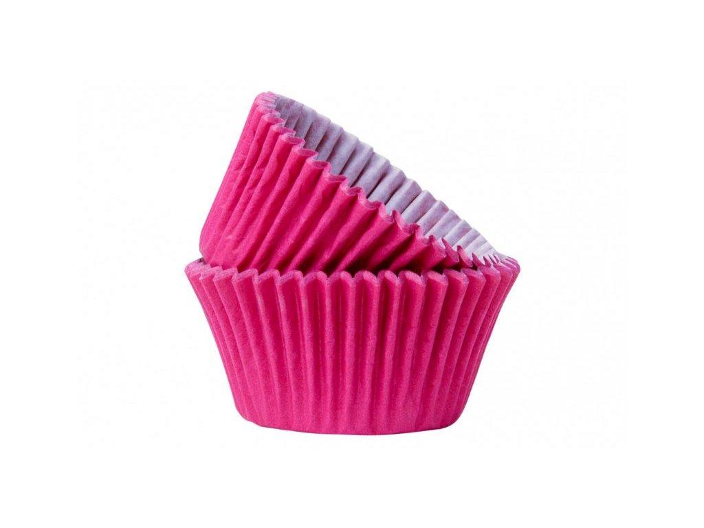 Cukrářské košíčky Hot Pink 51x38mm, 50ks, Doric