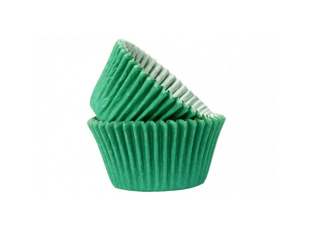 Cukrářské košíčky Dark Green 51x38mm, 50ks, Doric