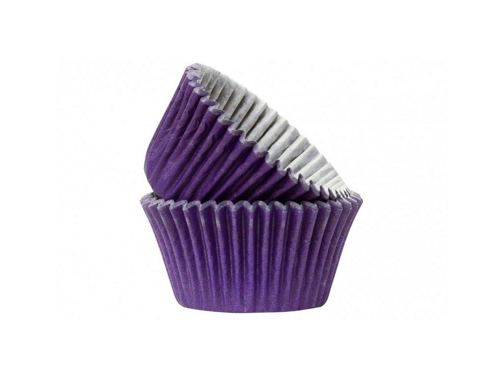 Cukrářské košíčky Purple 51x38mm, 50ks, Doric