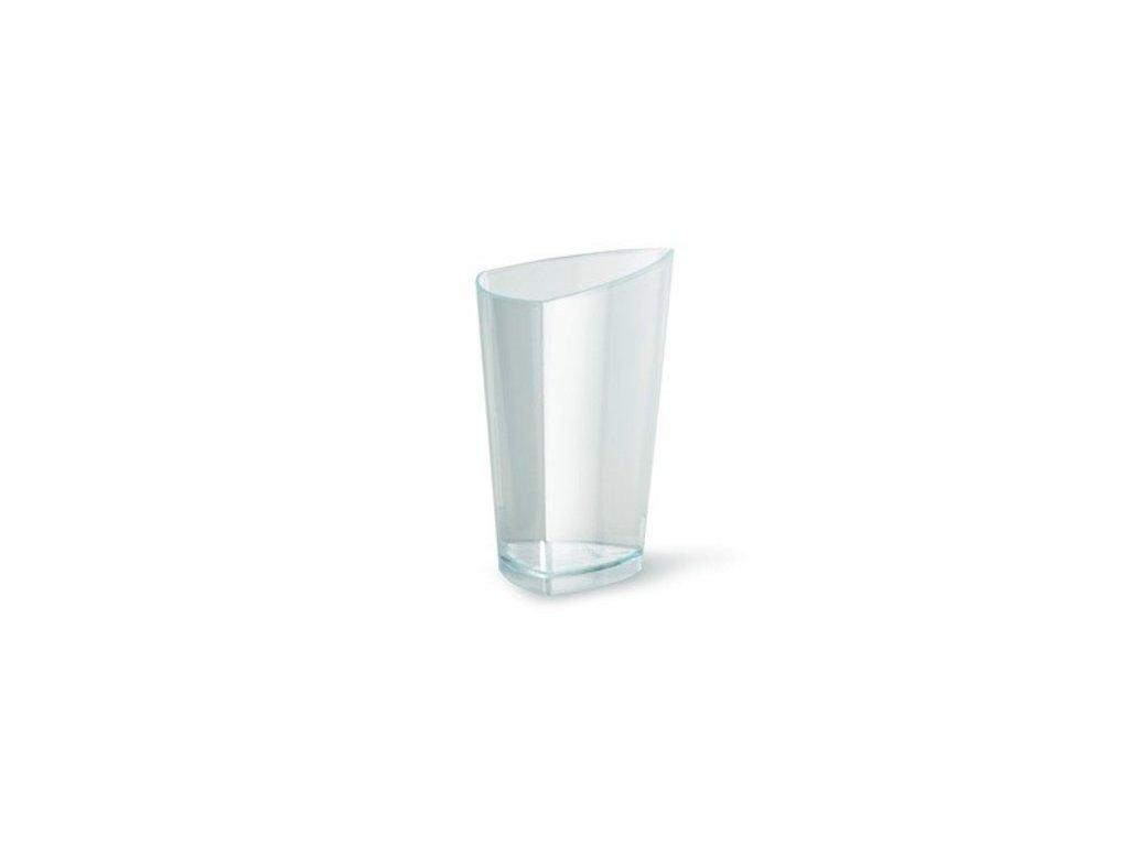 Kelímek trojhranný MON AMOUR, 70 ml