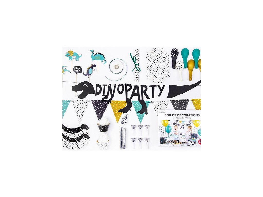 Party set Dinosaurs