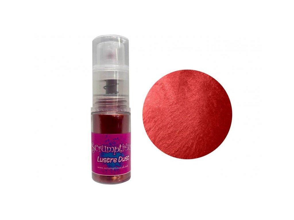 Prachová barva v rozprašovači Scrumptious Red , 4g