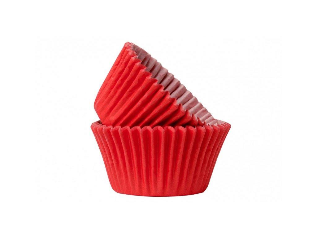 Cukrářské košíčky Red 51x38mm, 50ks, Doric