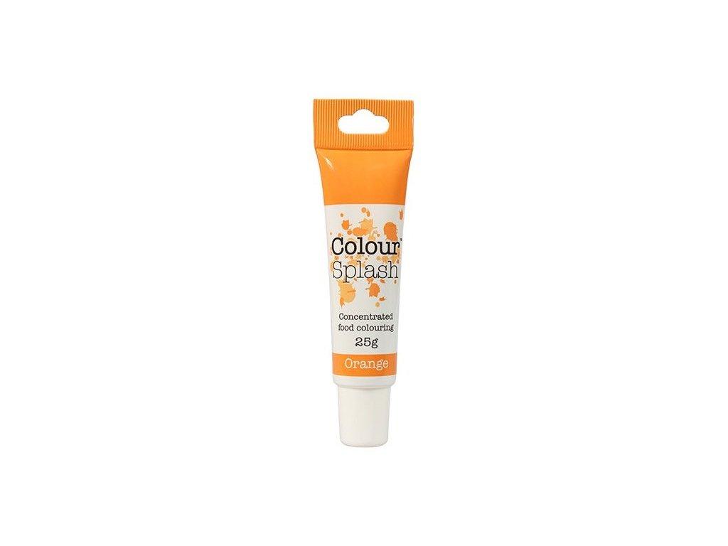 Gelová barva Colour Splash Orange, 25g