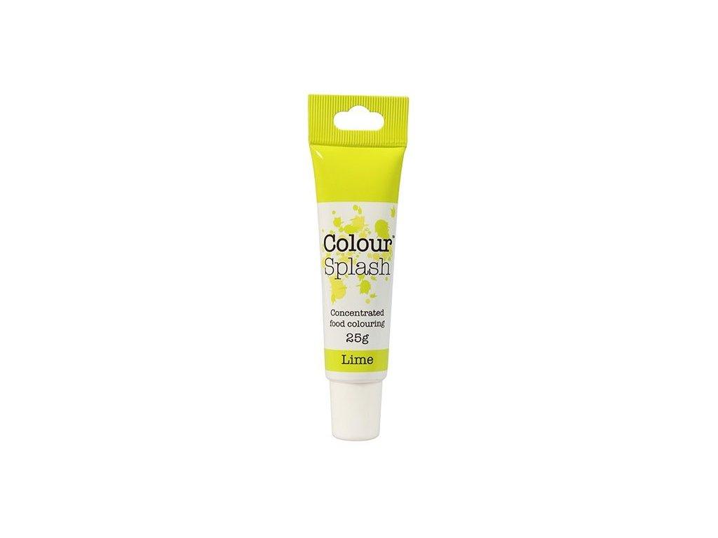 Gelová barva Colour Splash Lime, 25g