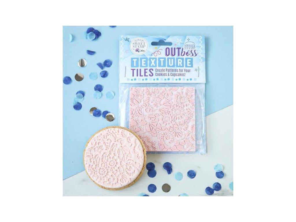 Vytlačovací OUTboss - Lace, Sweet Stamp