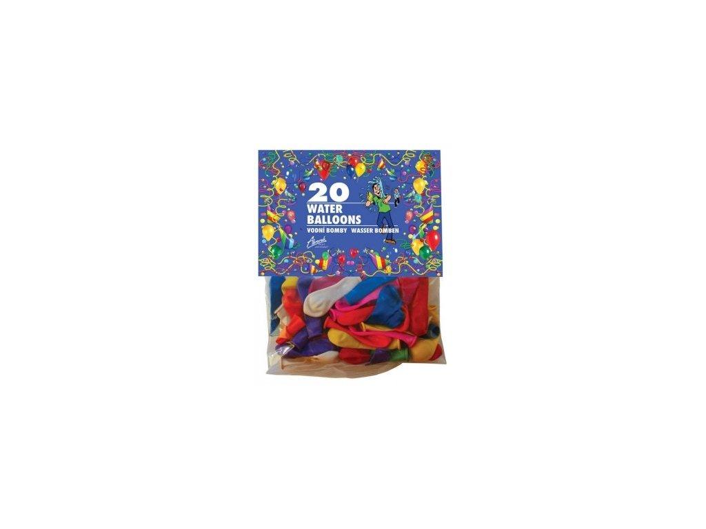 Nafukovací / vodní minibalónky mix barev, Alvarak