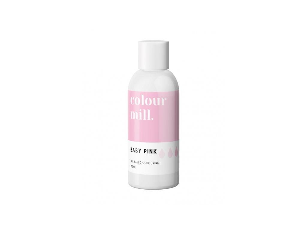 Colour Mill olejová barva 100ml - Baby Pink