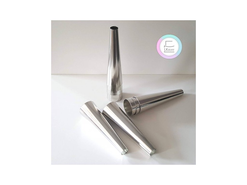 Formy na trubičky kónické 11cm, 10 ks