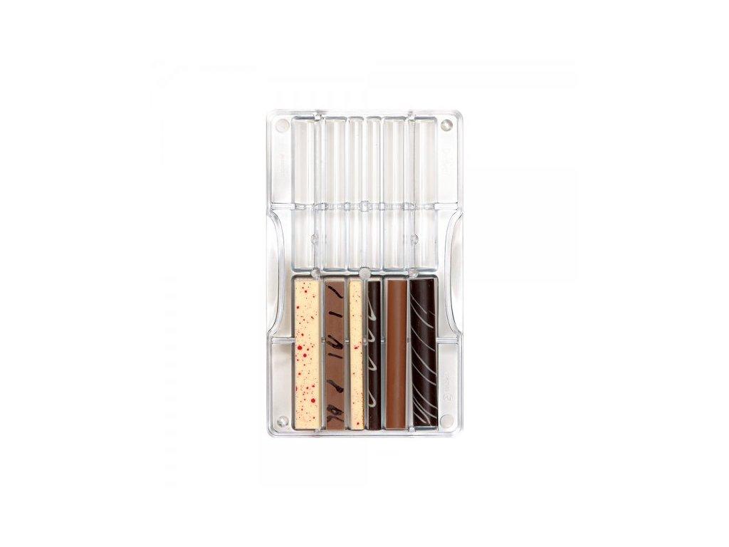 """Polykarbonátová forma na čokoládu Sticks and rods """"139, Decora"""