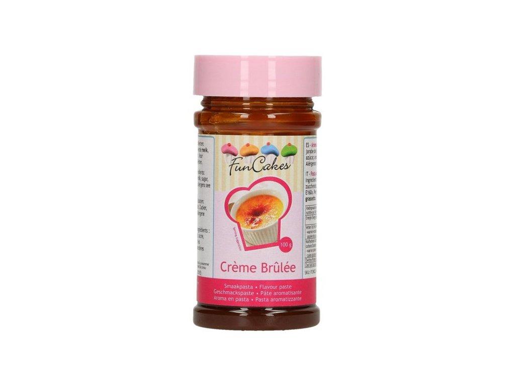Ochucovací pasta CRÈME BRÛLÉE 100g, FunCakes
