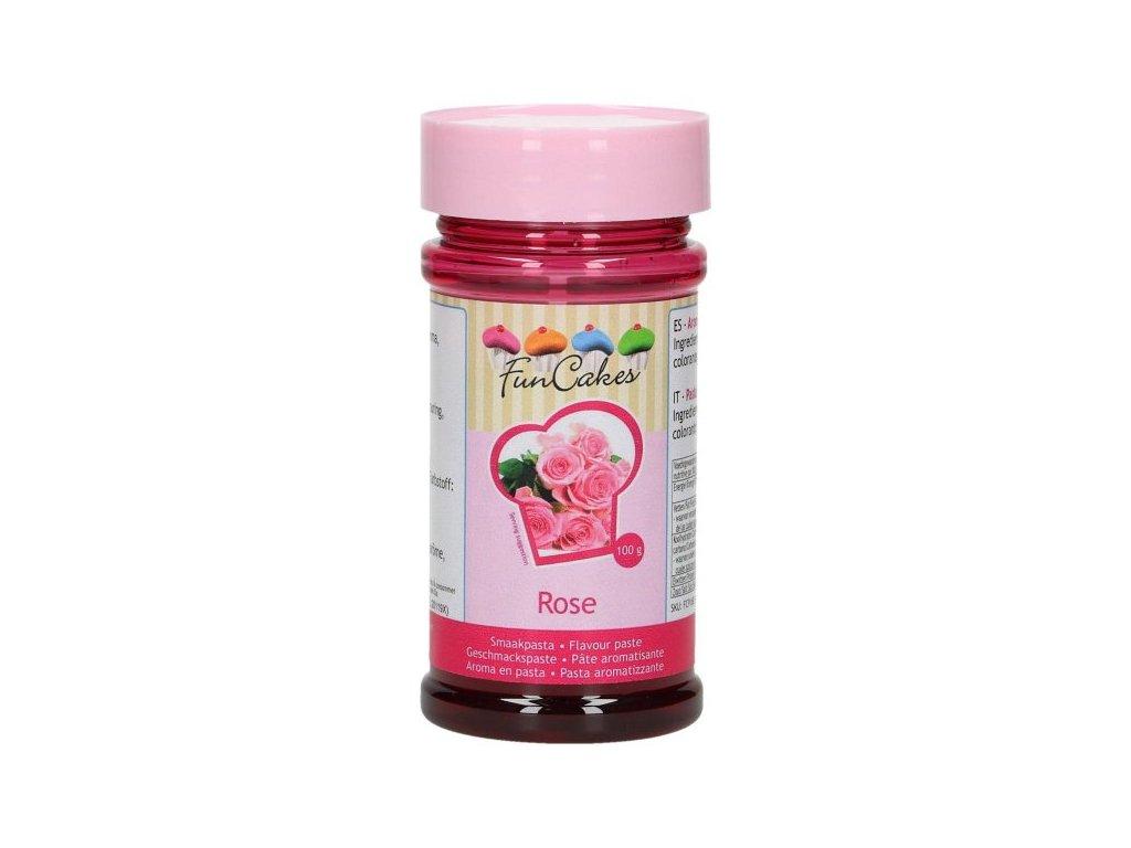 Ochucovací pasta ROSE - růže 100g, FunCakes