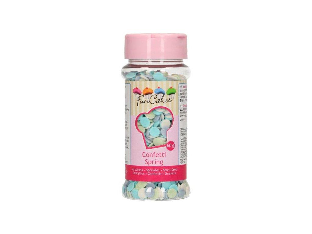 Cukrové zdobení FunCakes, Confetti Spring 60g