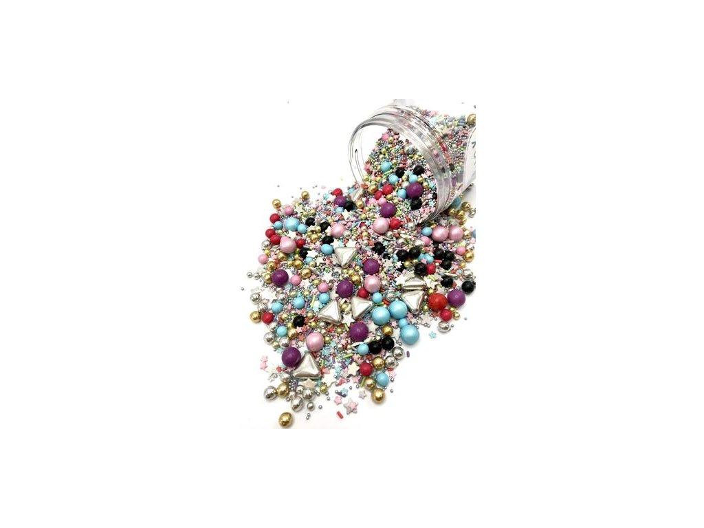 Cukrové zdobení Happy Sprinkles CELEBRATION, 90g