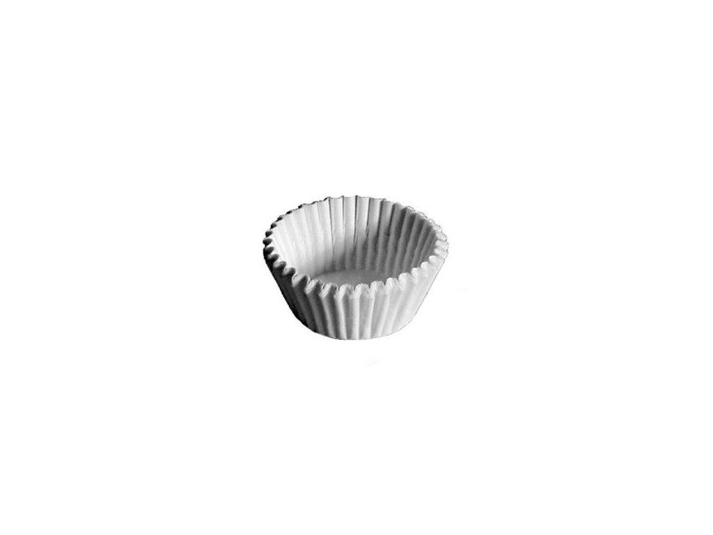 Cukrářské košíčky 50x32mm, bílé Wimex, 1000ks