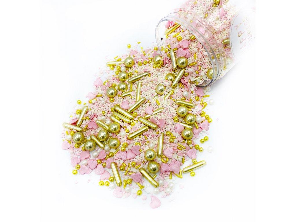 Cukrové zdobení Happy Sprinkles PRINCESS DIARY, 90g