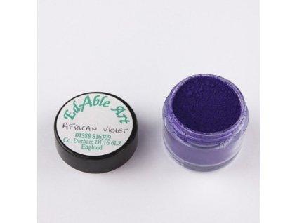 Prachová matná dekorační barva African Violet