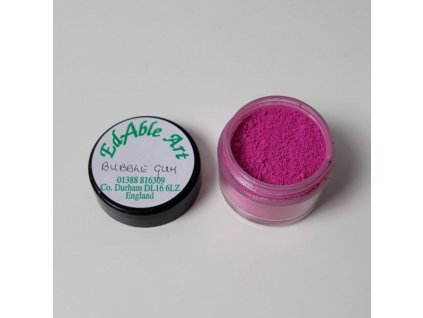 Prachová matná dekorační barva Bubble Gum
