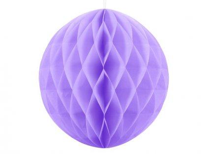 Dekorační koule lila, 20cm