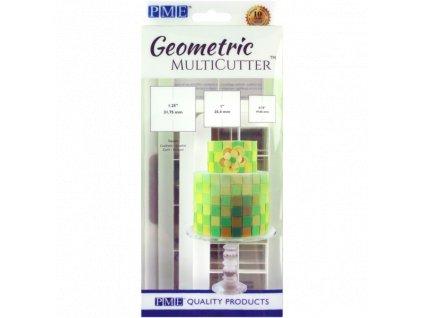 Geometric Multicutter čtverce, 3ks