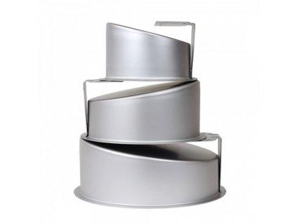 Sada - kruhové zkosené formy Topsy - Turvy PME (výška 10cm)