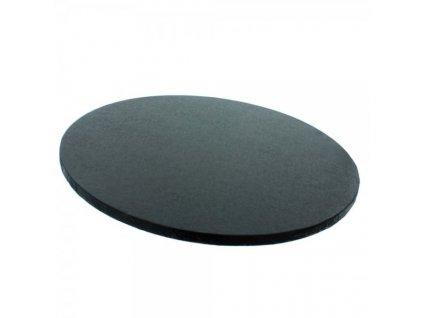 """Pevná černá podložka, 12mm, pr. 30,5cm (12"""")"""