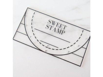 Podložka na abecedu Sweet Stamp