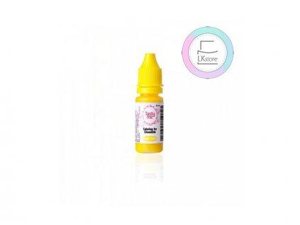 Tekutá barva do čokolády Bright Yellow (10ml), Tasty Me