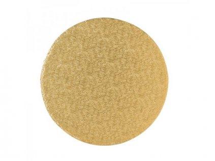 """Pevná Gold podložka, 12mm, pr. 23cm (9"""")"""
