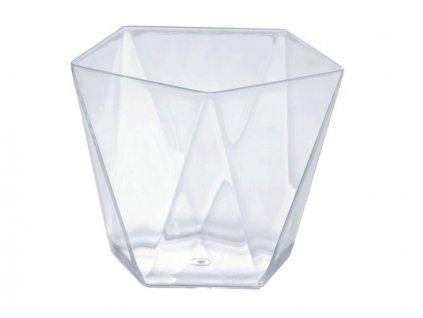 Kelímek hranatý  PENTA, 120 ml