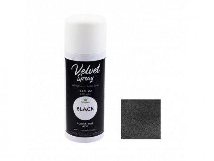 Sprej Velvet BLACK Martellato, 400 ml