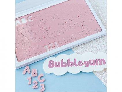 Vytlačovací abeceda Bubblegum, Sweet Stamp
