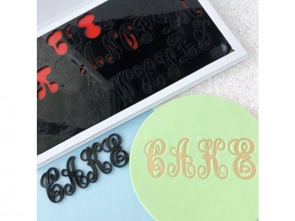 Vytlačovací abeceda Evil, Sweet Stamp