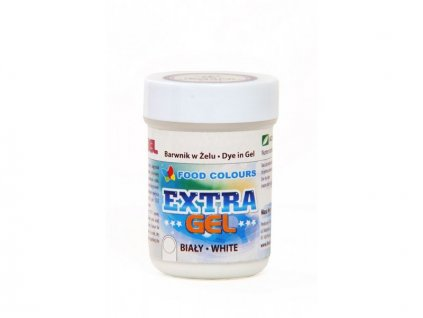 Gelová barva Extra bílá 35g, Food Colours