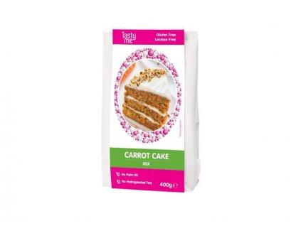 Směs Carrot Cake - Mrkvový dort bezlepkový, Tasty Me, 400g