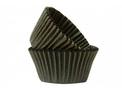 Cukrářské košíčky Black 51x38mm, 50ks, Doric