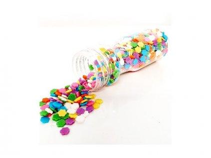 Cukrové zdobení TastyMe Flowers - kytičky, 55g