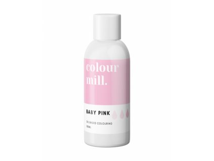 Colour Mill olejová barva 100ml - Baby Pink
