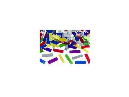 Vystřelovací konfety MIX metalických barev 40cm, PartyDeco