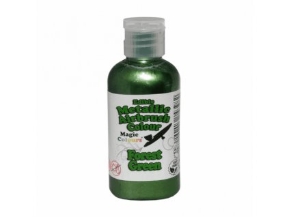 Airbrush tekutá barva Magic Colour Metallic Forest Green, 55g
