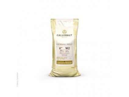 Bílá čokoláda 28%, Callebaut W2, 10kg