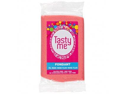 Fondánová hmota Bright Pink TastyMe, 200g