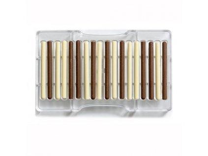 "Polykarbonátová forma na čokoládu Cigar ""82, Decora"