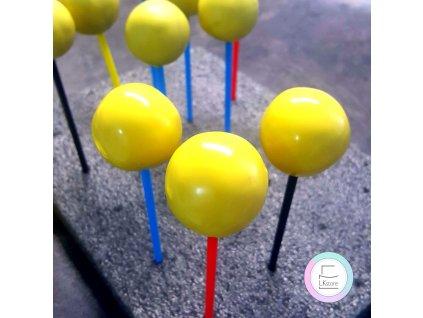 Elastická poleva Souplesse - citronová, 500 g