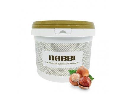 Lískooříškový krém BABBI Golosa Nocciolatte, 3kg
