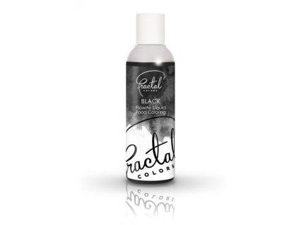 Airbrush tekutá barva Fractal Black, 100ml