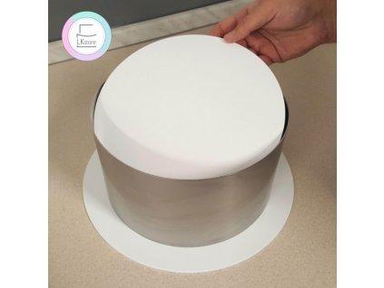 Plexi disky bílé, 3mm, pr. 145mm, 2ks