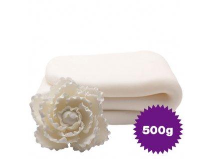 pasta flori 500 alb