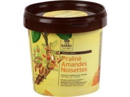 Náplň do pralinek lískový oříšek a mandle PRALINE Callebaut, 1kg