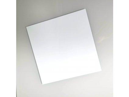 Plexi disky bílé čtverec, 3mm, 245x245mm, 2ks